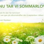 Sommarlov! Summer Holiday!